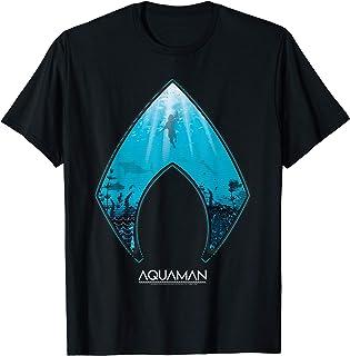 DC Comics Aquaman Ocean Logo T-Shirt