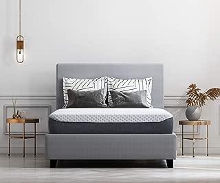 Ashley Furniture Signature Design - 10 Inch Chime Elite Mattress - Queen Size - White & Blue