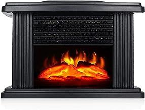 RKRLJX Chimenea eléctrica Inserta Chimenea eléctrica 1000W Chimenea Independiente Estufa Calentador Para Dormitorio Casa