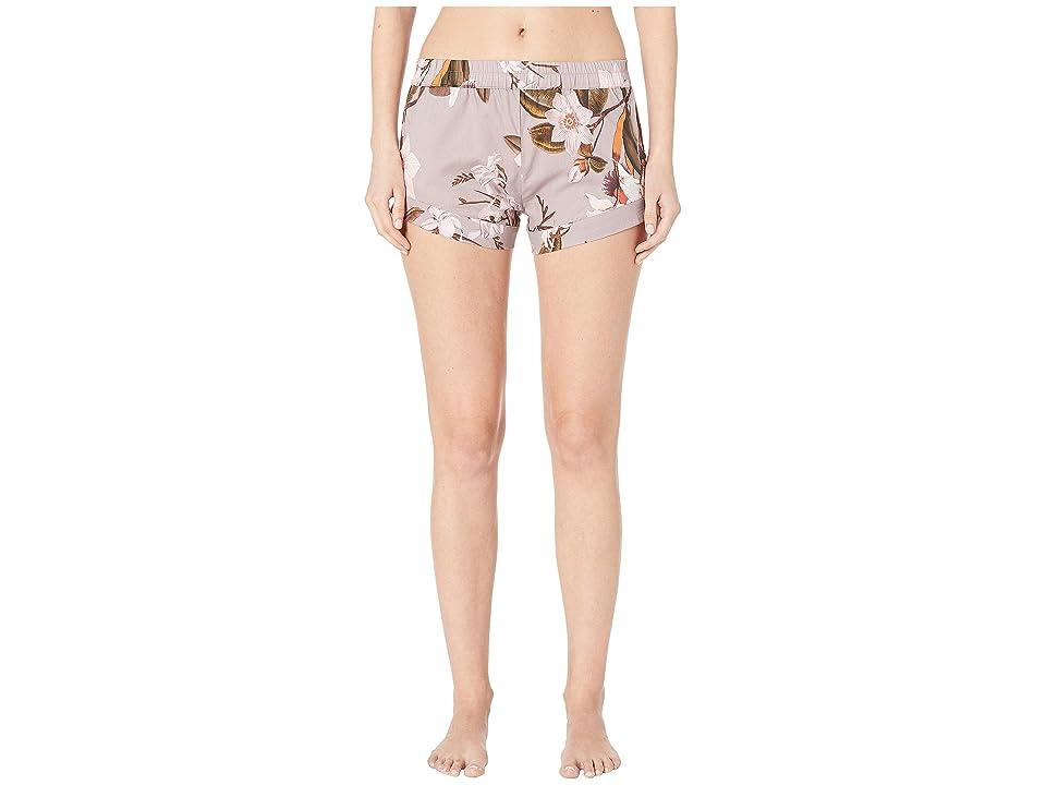 Maison Du Soir Stevie Shorts (Violet Floral) Women