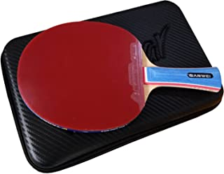 SANWEI M8 + 868 SPINPOWER TABLE TENNIS RACKET (WITH FREE HARD CASE)