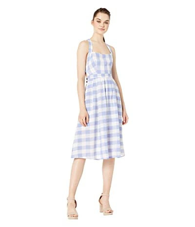 ASTR the Label Lillian Dress (Periwinkle Picnic) Women