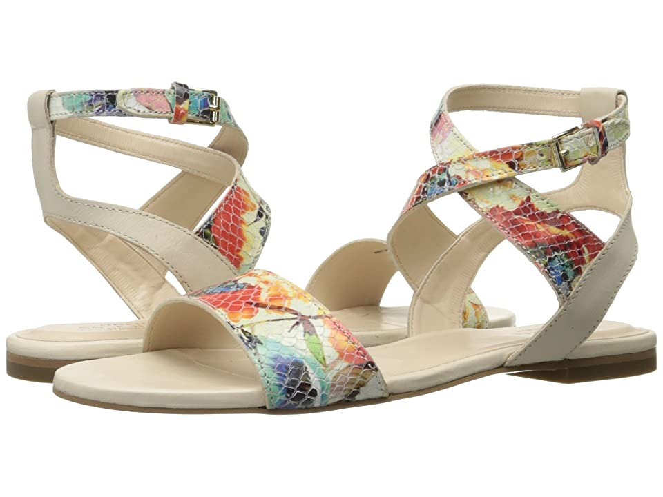 Cole Haan Fenley Sandal (Sandshell Leather/Floral Print) Women