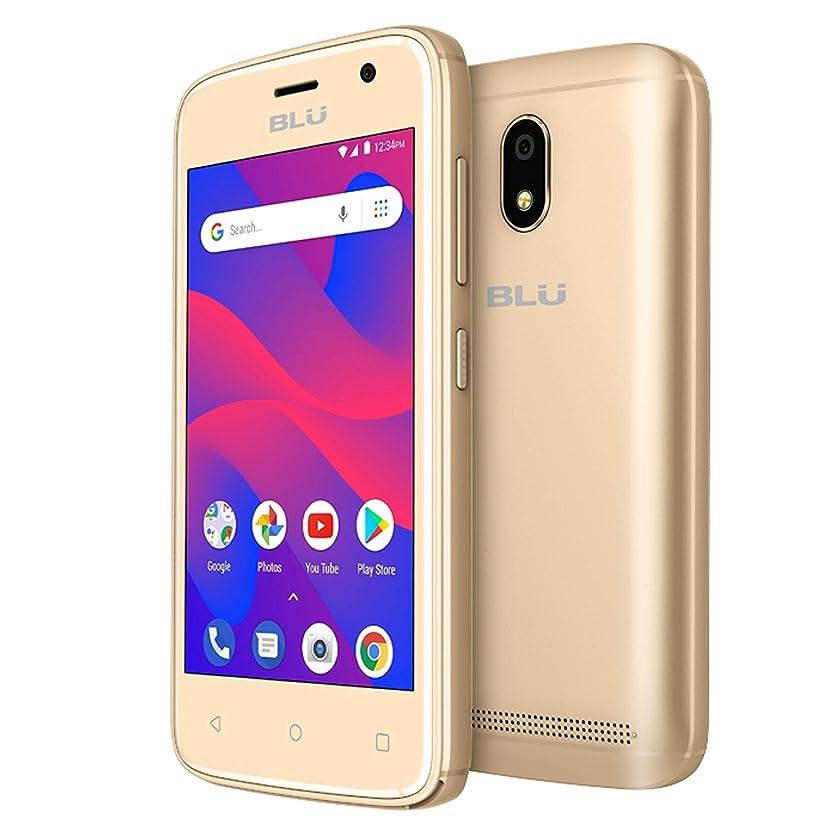 BLU C4 C050U 3G Unlocked GSM Dual-SIM w/ 5MP Front and Rear Camera's - Gold
