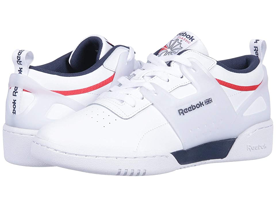 Reebok Lifestyle Workout ULS L (White/Collegiate Navy/Primal Red) Men