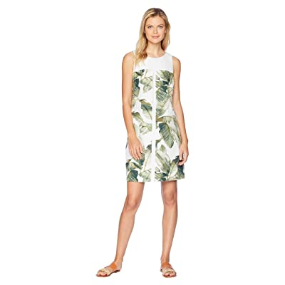 Tommy Bahama Fiesta Palms Shift Dress (White) Women