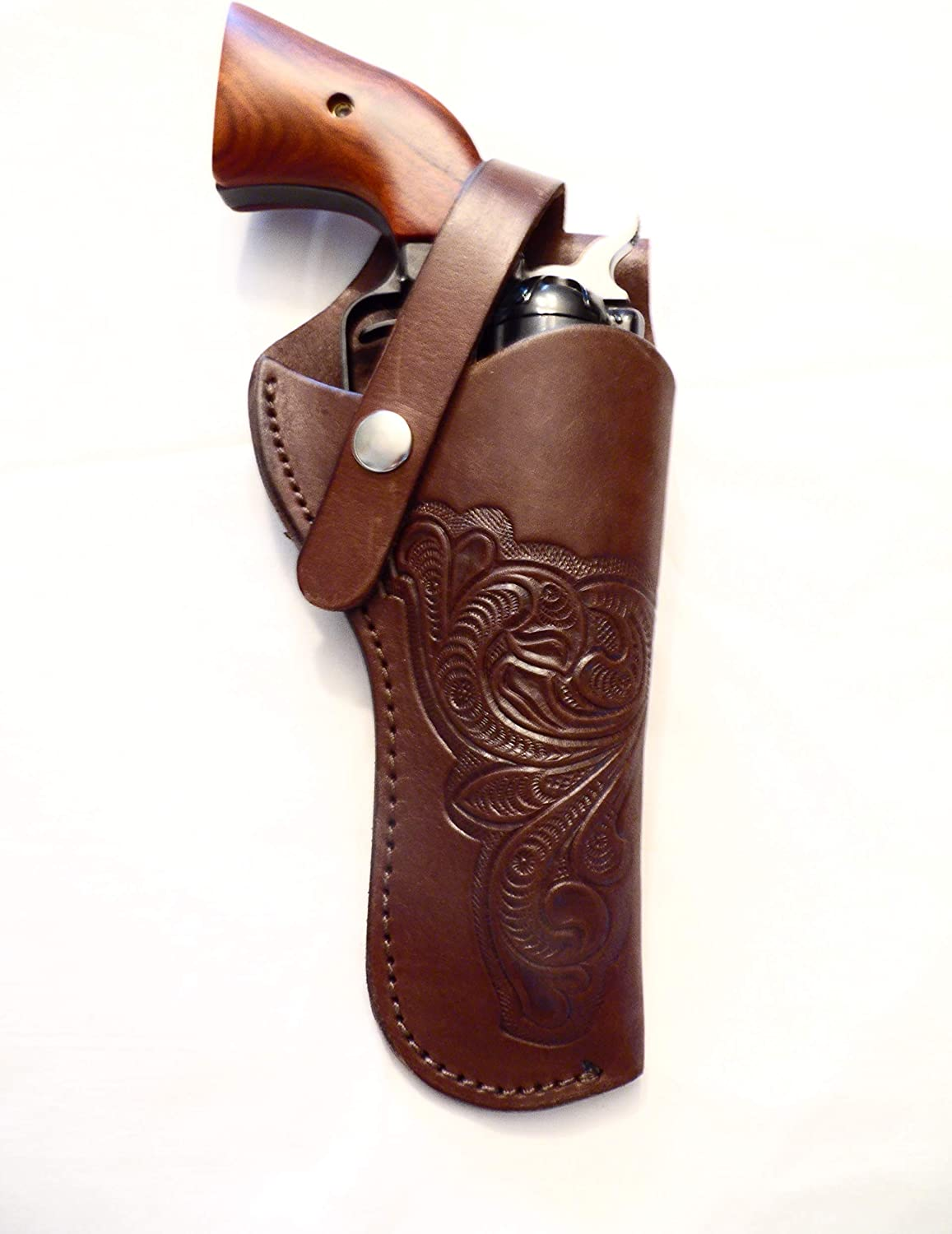 Popular popular Western Gun Credence Holster #601 - Used Rid Heritage Rough Brown for