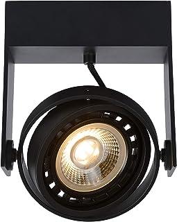 Lucide 22969/12/30 - Foco de techo (aluminio, 12 W), color negro