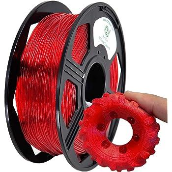 NinjaTek 3DNF03117505 NinjaTek NinjaFlex TPU Filament TPE.5kg 1.75mm Red Pack of 1 Fire