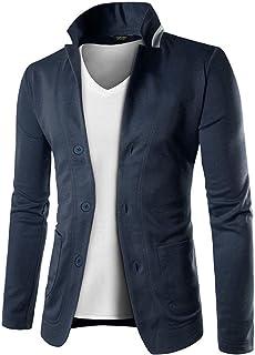 COOFANDY Mens Casual Slim Fit Blazer 3 Button Suit Sport Coat Lightweight Jacket Coat