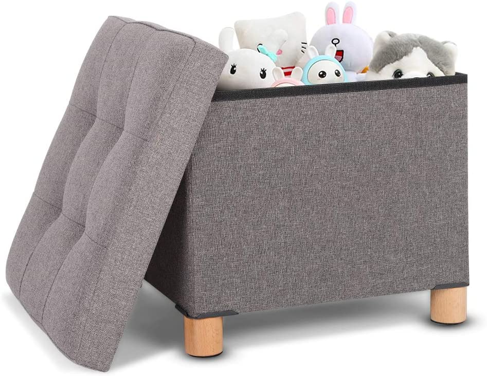 Foldable Cubes Storage Ottoman Max 46% OFF Simple Stool Outlet SALE Multifunction Foot