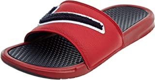 85b23a27f Amazon.com  Red - Sport Sandals   Slides   Athletic  Clothing