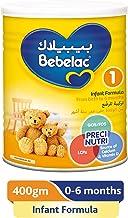 Bebelac 1 First Infant Milk, 400gm