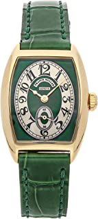 Franck Muller Curvex Mechanical (Hand-Winding) Green Dial Womens Watch 1752 S6 (Certified Pre-Owned)