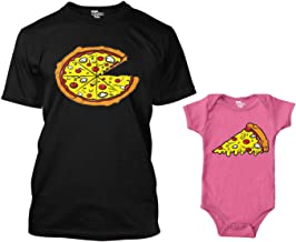 Pizza Pie/Slice Matching Bodysuit & Men's T-Shirt