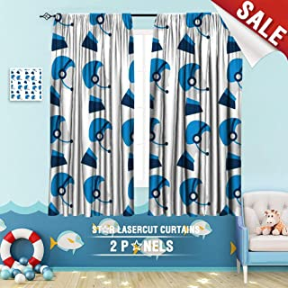Big datastore home Black Out Window Curtain, Assistant Avatar Background Business Call Center Color Communication Concept Contact Illustration 108 x 72 inch Design Children's Room Curtains