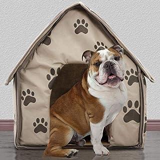 Blue-Yan Pequeño Huella Desmontable para Mascota, casa, Perro, Gato, caseta