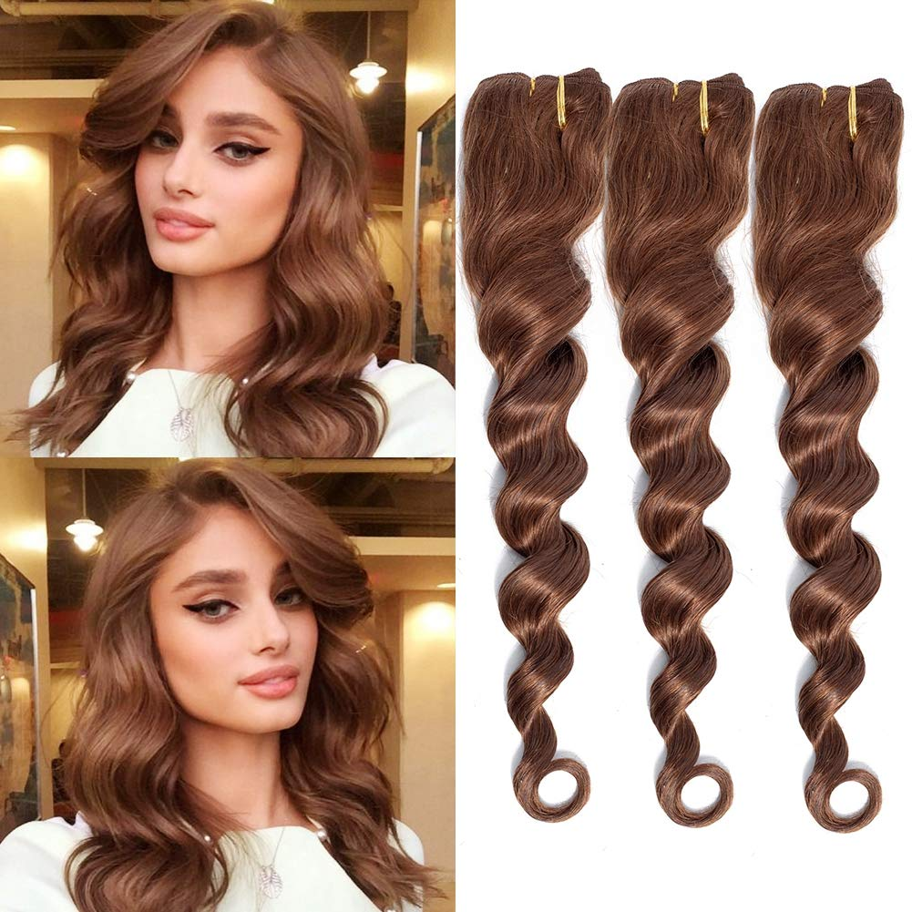 MY LIKE Hair お得なキャンペーンを実施中 Loose Deep Wave Bundles- Brazilian V 3 絶品 Bundles