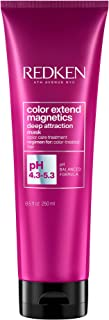 Redken | Color Extend Magnetics | Deep Attraction | Mask for Coloured Hair| Enhances Shine | 250ml