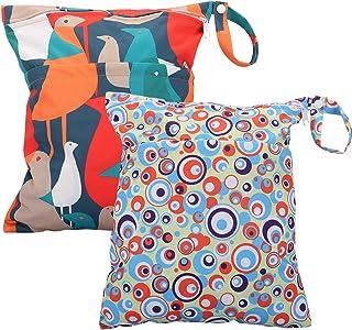 Waterproof Reusable Laundry Swimsuit WB02 Circle Bird