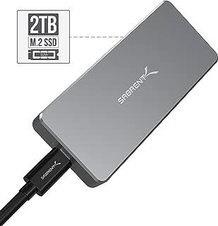 Sabrent Rocket Pro 2TB NVMe USB 3.1 External Aluminum SSD (SB-2TB-NVME)