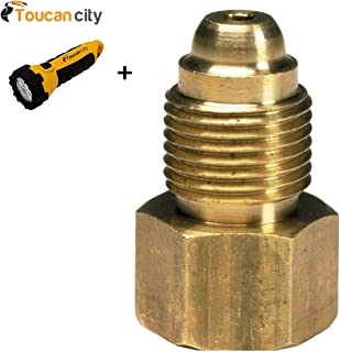 Toucan City LED flashlight and Lincoln Electric 1-Cable Torch Adapter K2166-3