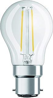 OSRAM LED Bulb Socket: B22d, 2.5 Watt, 25-Watt-Replacement, Warm White 4052899961944
