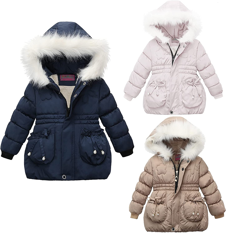 Toddler Kids Girls Winter Warm Jackets Philadelphia Mall Fur Snowsuit Ho Faux San Jose Mall Coat
