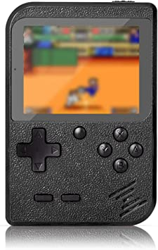 Flybiz Handheld Game Console 3 Inch Gameboy Fc System 400 Retro Game Console For Children Gift Support Tv Player Portable Retro Video Game Console Amazon De Toys Games