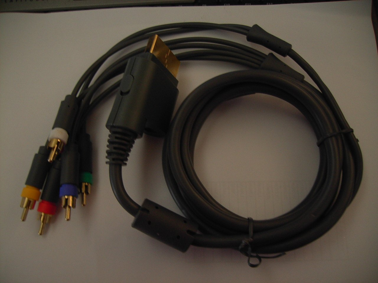 Component - New HDTV HD Audio Video AV Cable RGB for XBOX 360