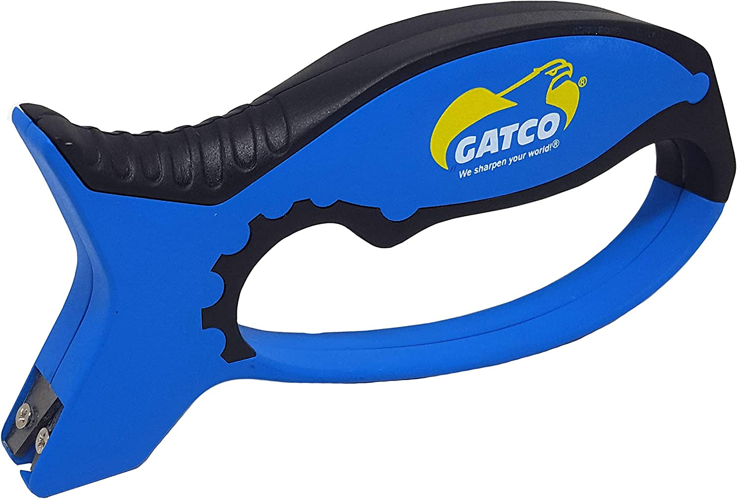 Gatco Easy Pull Through Sharpener Kraton with Grip San Francisco Special price Mall Soft Blue