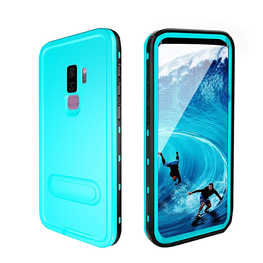 comosso Samsung Galaxy S9+ Plus Case, IP68 Waterproof Case with Built-in Screen Protector, Full-Body Rugged Impact Resistant Protective Hard Cover Case for Galaxy S9 Plus (2018, 6.2inch)