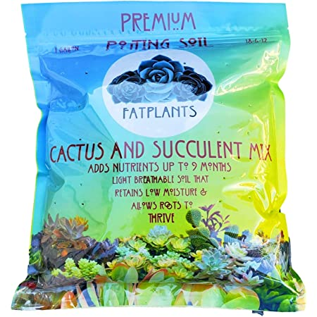 Fat Plants San Diego Premium Cacti and Succulent Soil with Nutrients