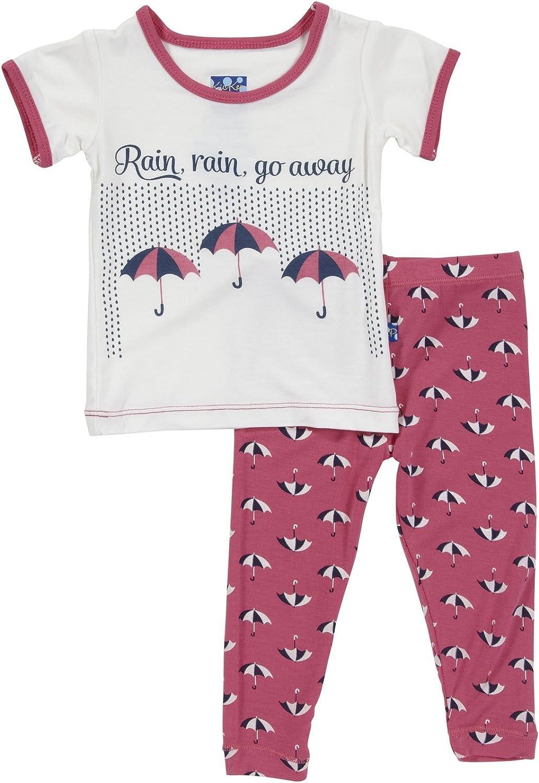 Kic Kee Pants Baby Girls' Long Sleeve Pajama Set
