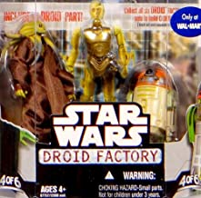 Star Wars Saga 2008 Build-A-Droid Factory Action Figure 2-Pack Kit Fisto and R4-H5