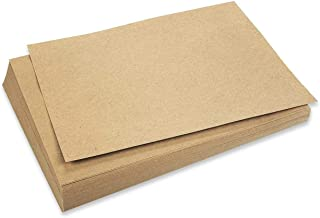 Best Paper Greetings 96-Pack Brown Kraft Letter Sized Stationery Paper, 120GSM for Arts, Crafts, and Office Use, 8.5 x 11 Inches
