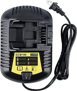 Lasica DCB105 20V Charger for Dewalt 20V MAX Charger DCB107 DCB102BP DCB118 DCB104 DCB119 DCB112 DCB115 Dewalt 12V 20V MAX Battery DCB205-2 DCB204-2 DCB606-2 DCB203-2 DCB609-2 DCB206-2 DCB201 DCB200-2