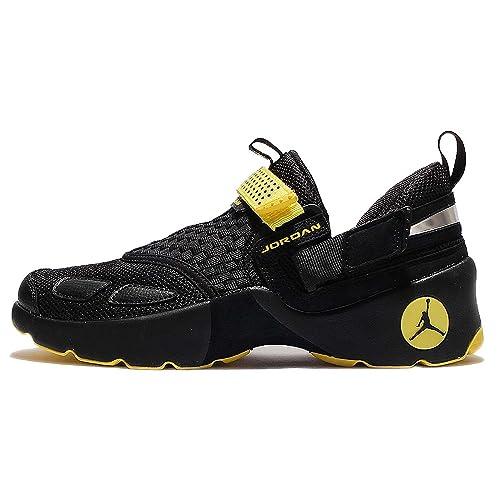 buy online 6de6d aff76 Jordan Mens Trunner LX Black Black Opti Yellow Size 8