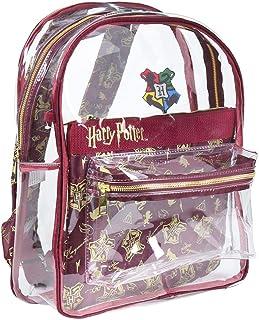 Mochila Transparente de Harry Potter con Compartimento Interior Impreso