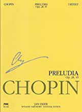 Preludes: Chopin National Edition Vol. VII (National Edition of the Works of Fryderyk Chopin, Series a)
