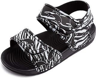 Toddler Boys Girls Sandals Kids Beach Water Shoes Cute Open Toe Summer Flat Sandals