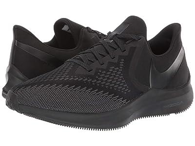 Nike Air Zoom Winflo 6 (Black/Black/Anthracite) Men