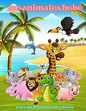 100 animales bebé - Libro De Colorear Para Niños (Spanish Edition)