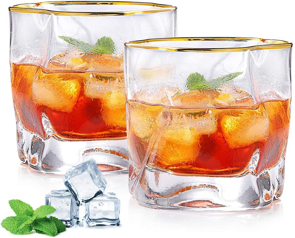 Super Year-end annual account sale period limited 250ML Whiskey Glasses Set of 2 - Gifts Men ZDZDZ for Stylish Sco