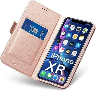 Fundas iPhone XR, Funda iPhone XR Libro,Carcasa iPhone XR con Cierre Magnético, Tarjetero y Suporte, Capa iPhone XR Plegab...