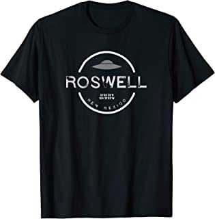 Roswell New Mexico UFO Vintage Retro T Shirt