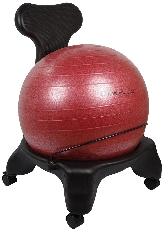 isokinetics Inc. Equilibrio pelota de ejercicios silla – estándar ...