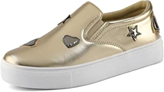 Best gold slip on shoes girls Reviews