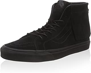 Vans Suede SK8-Hi Moc 男士滑板鞋 VN-03156D3_4 - 黑色/黑色
