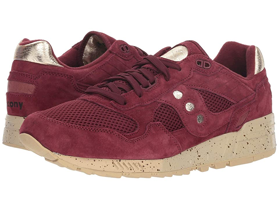 Saucony Originals Shadow 5000 Gold Rush (Maroon/Gold) Men